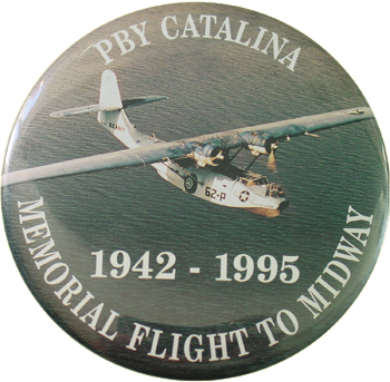 PBY Catalina Foundation Button